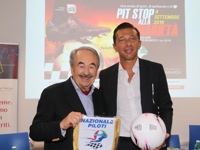 Pit stop alla solidarietà: la partita di beneficenza tra la nazionale piloti e la squadra di Assolombarda.