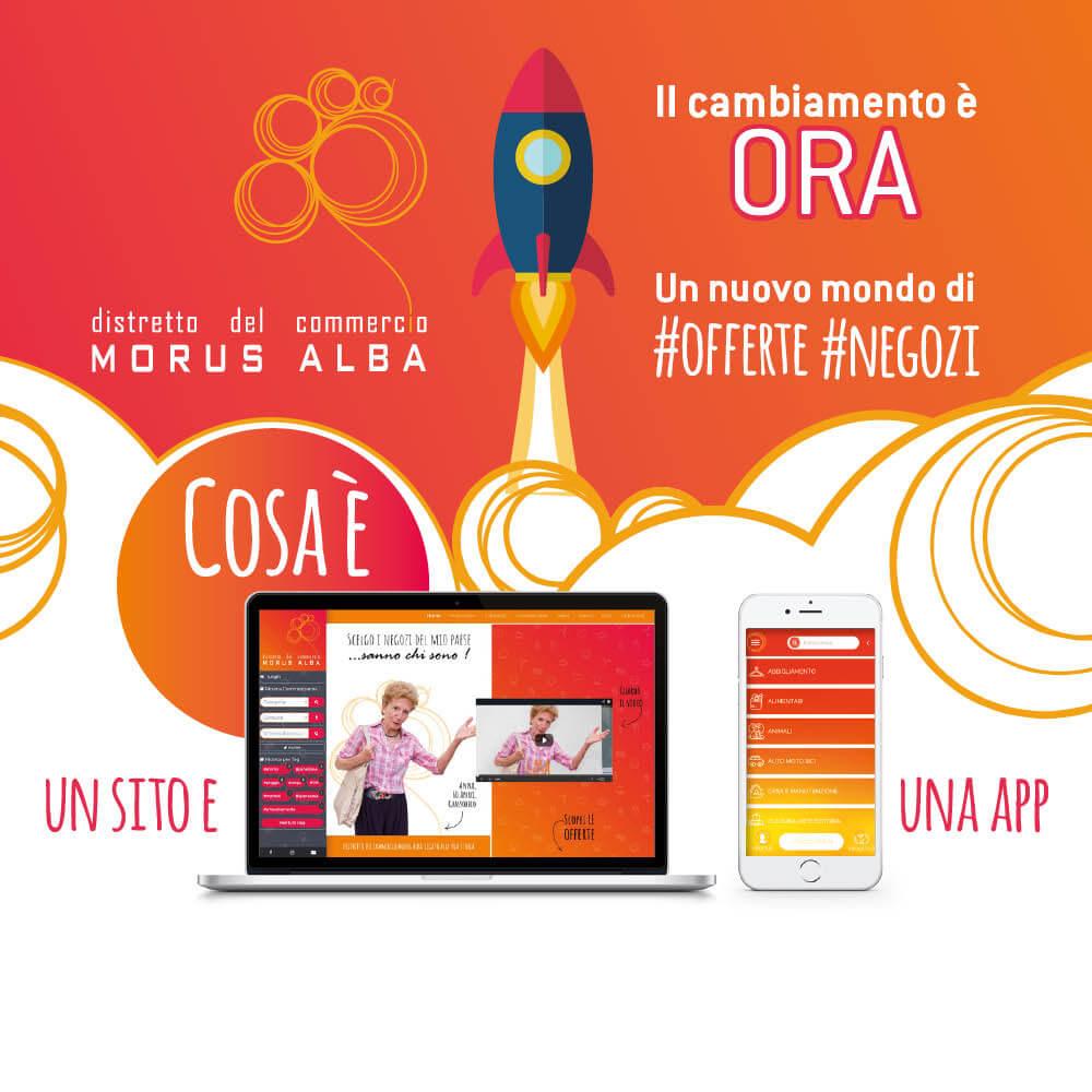 Strategie di comunicazione per Morus Alba