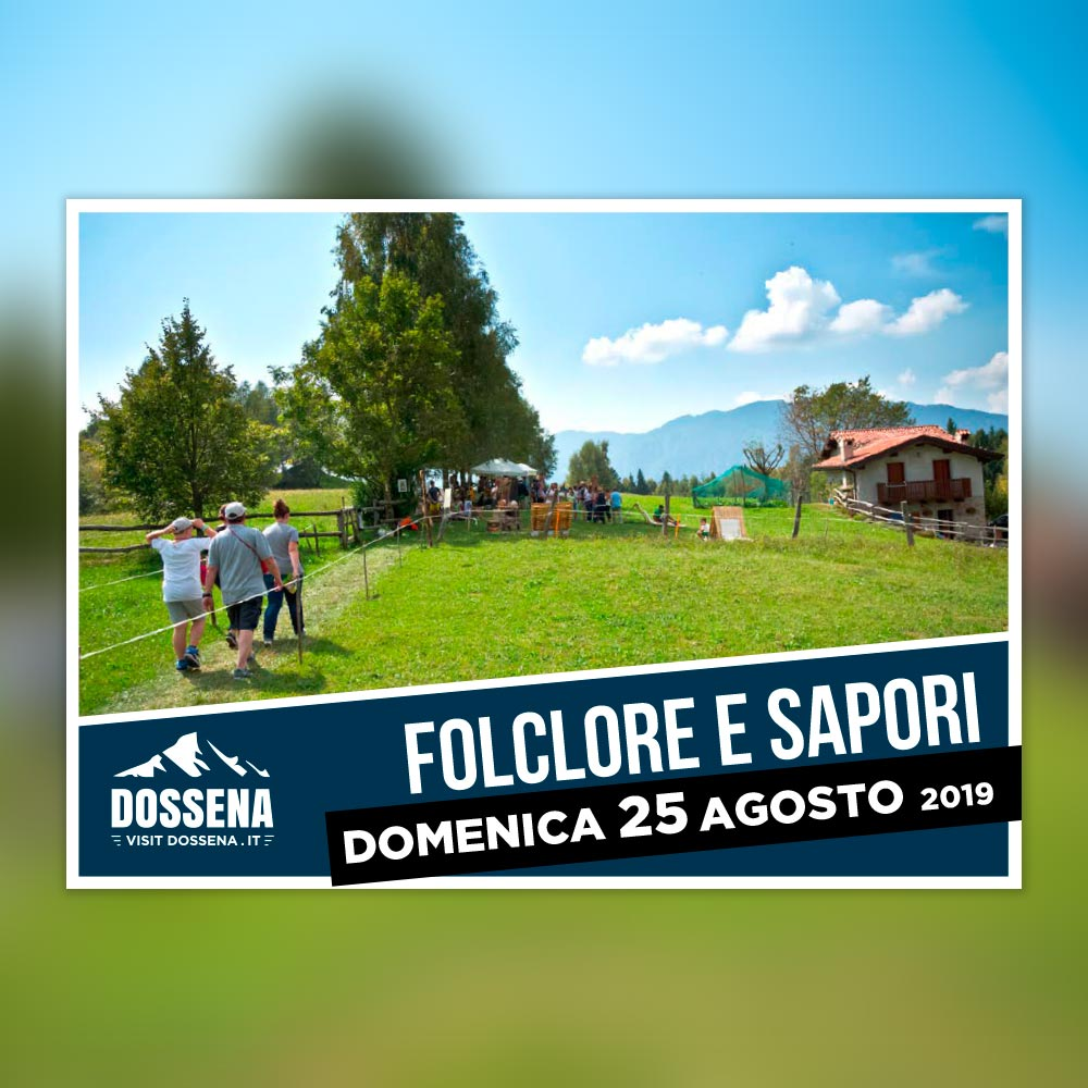 Save the date: 25 Agosto 2019