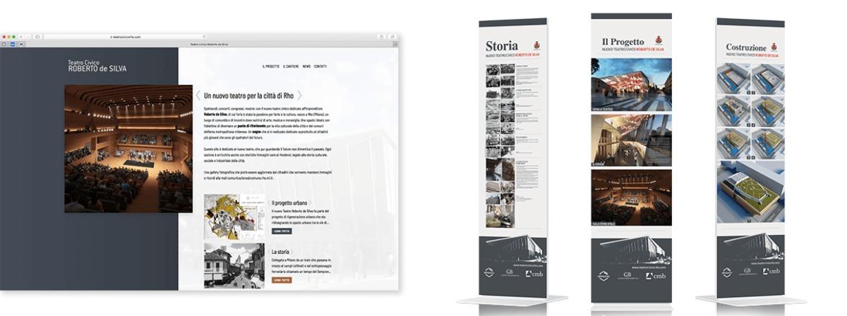 Strategie di comunicazione e digital marketing: Nuovo sito e strumenti di comunicazione per il Teatro Civico di Rho