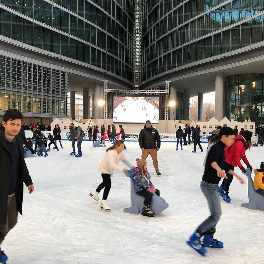Evento per  02 ice- Milano
